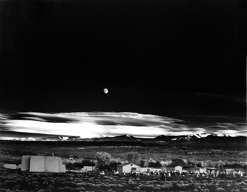 Nuestra exposicion soñada.-ansel-adams_moonrise-hernandez.jpg