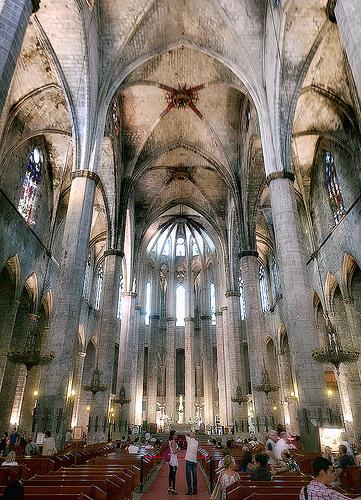 470 - Iglesia de Santa Maria del Mar.