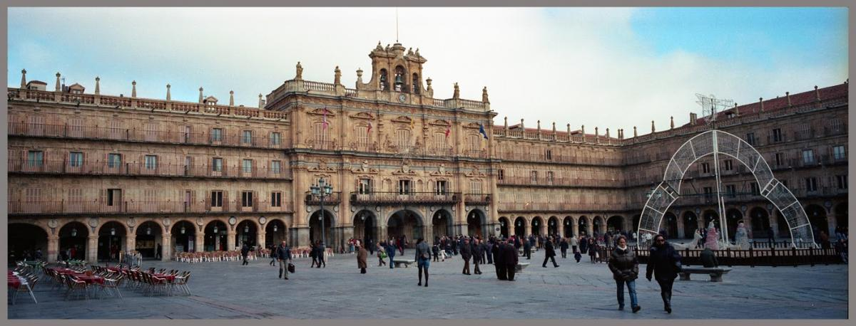 Plaza 1 - Salamanca con la X-Pan