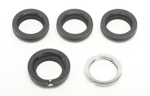 NovoflexmacroLEMVISIIadaptersetforLeicaM 1 - Adaptador Novflex LEM/VISII: objetivos Visoflex y anillo macro para la Leica M (#240)
