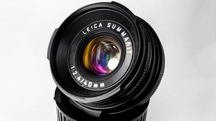 LeicaMiniluxtoLeicaMmountlensconversiona 2 - Adaptador para convertir el objetivo Leica Minilux Summarit 40 f:2,4 a M de MGR Production