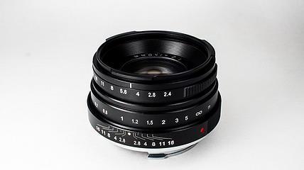 LeicaMiniluxtoLeicaMmountlensconversiona 3 - Adaptador para convertir el objetivo Leica Minilux Summarit 40 f:2,4 a M de MGR Production