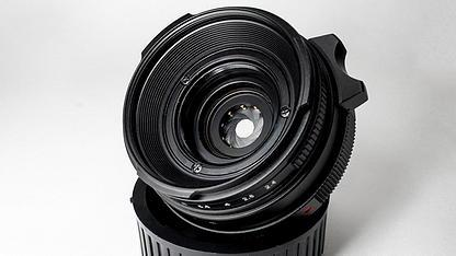 MGRProductionLeicaMiniluxtoLeicaMmountle 2 - Adaptador para convertir el objetivo Leica Minilux Summarit 40 f:2,4 a M de MGR Production