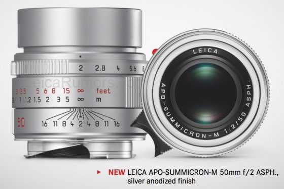 LeicaAPOSummicronM50mmf20ASPHlenssilver5 1 - Retraso en las entregas del APO-Summicron-M 50 mm f:2,0 ASPH