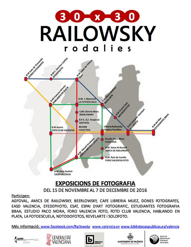 "gjAUytY 1 - Exposición Colectiva ""30 años de Railowsky"""