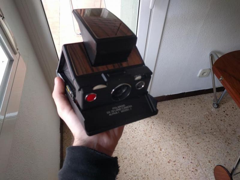 40868866800 767560b75d o 1 - Nikon F3+50mm E y cámaras Polaroid SLR SX-70/Spectra