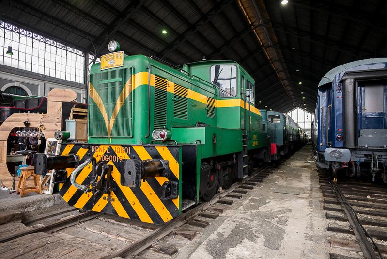 MF 1 - Museo ferroviario de Madrid