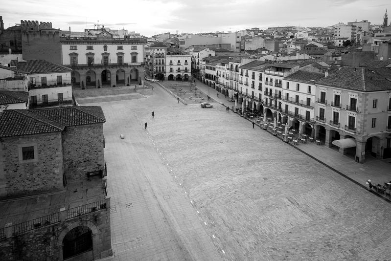 Plaza Mayor C ceres 1 - Cáceres y otras  perlas de Extremadura