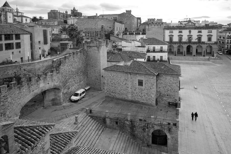 Plaza Mayor C ceres 2 - Cáceres y otras  perlas de Extremadura