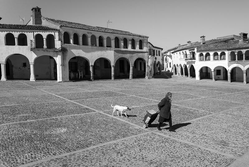 Se ora con perro - Cáceres y otras  perlas de Extremadura