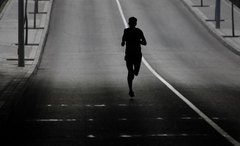 Carrera por el S hara - Septiembre - Haciendo deporte