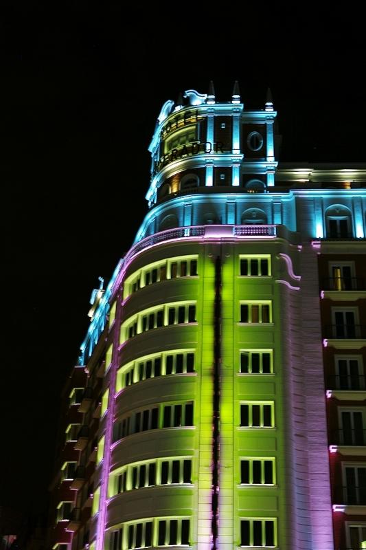 Gran V a Madrid - Nocturnas