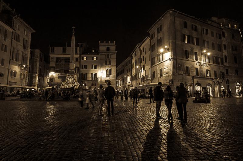 Pante n   Roma - Nocturnas