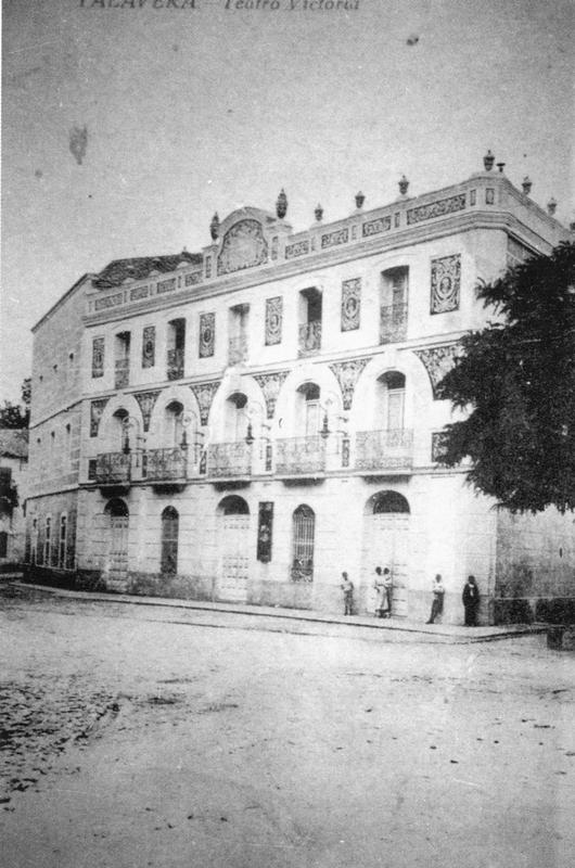 Teatro Victoria 1920 - Homenaje  Vintage