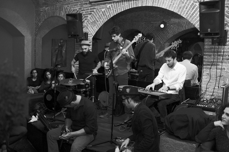 Jam Session en El Paraigua, Nicolas y amigos
