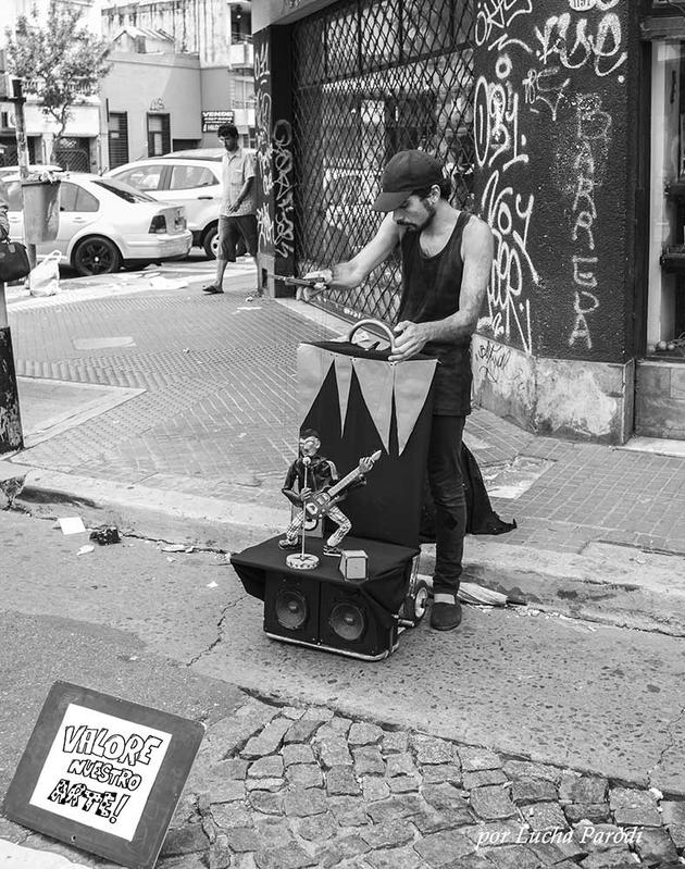 Paseando en el barrio de San Telmo - Buenos Aires
